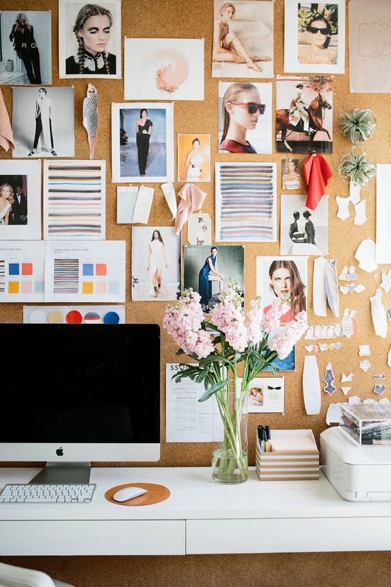 home office Pin Board