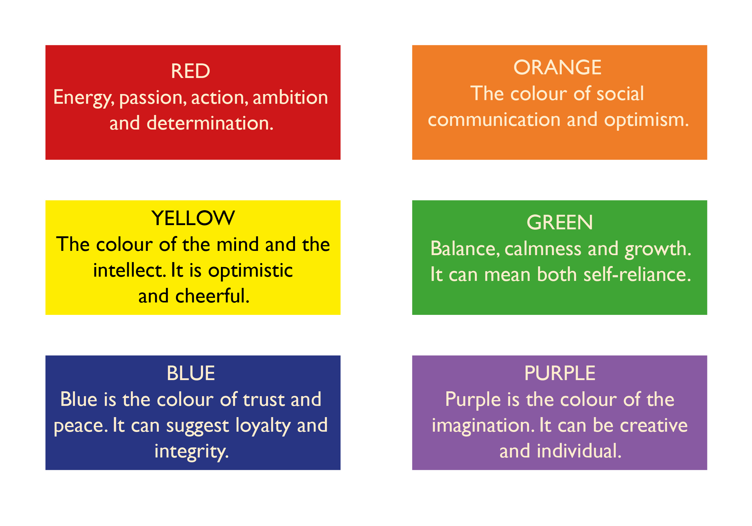 100 Meanings Of Different Colors What Meanings Do