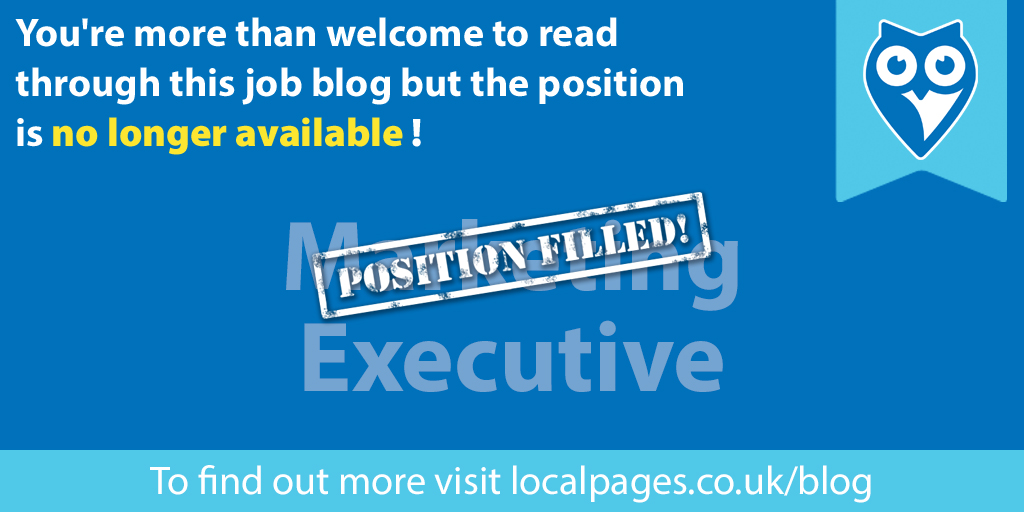 We're hiring! Read on to find out more…