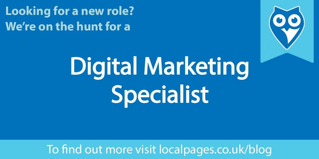 We're Hiring a Digital Marketing Specialist!
